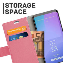Load image into Gallery viewer, Just in Case Samsung Galaxy S10e Wallet Case (Pink)