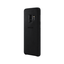 Load image into Gallery viewer, Samsung Galaxy S9 Alcantara Cover (Black) - EF-XG960AB