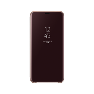 Samsung Galaxy S9 Plus Clear View Cover (Gold) - EF-ZG965CF
