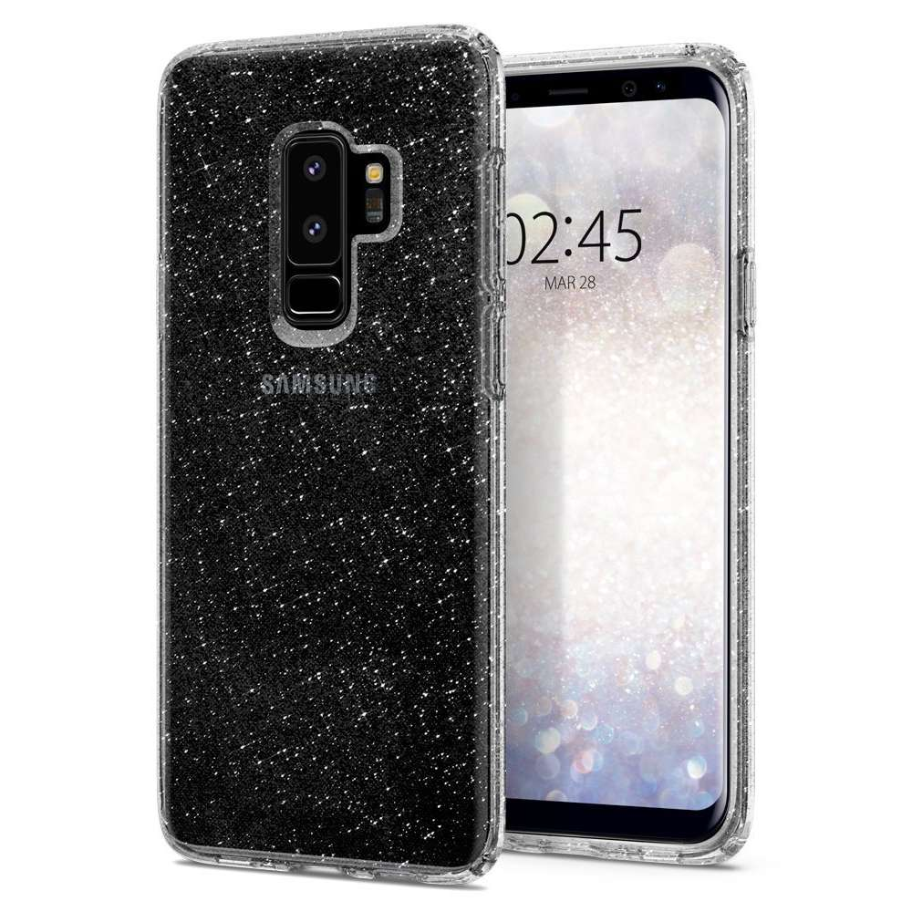 Spigen Liquid Crystal Glitter Case Samsung Galaxy S9 Plus (Crystal Quartz) 593CS22918