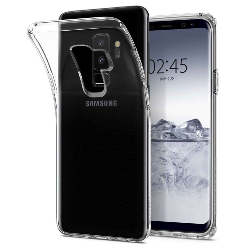 Just in Case Samsung Galaxy S9 Plus Soft TPU case (Clear)