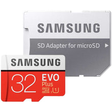 Load image into Gallery viewer, Samsung MicroSDHC 32GB Class 10 EVO+ met adapter R95MB/s - W20MB/s