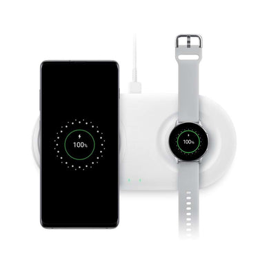 Samsung Wireless Charger Duo Pad (White) - EP-P5200TW