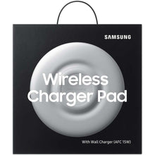 Load image into Gallery viewer, Samsung Wireless Charger Pad (White) - EP-P3100TW