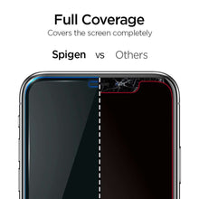 Load image into Gallery viewer, Spigen Apple iPhone 11 AlignMaster Full Cover Glass (Black)
