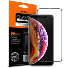 Load image into Gallery viewer, Spigen Screenprotector Full Cover Glass iPhone 11 Pro Max / iPhone XS Max (Black)