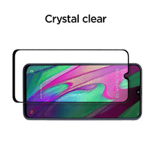Load image into Gallery viewer, Spigen Screenprotector Full Cover Glass Samsung Galaxy A40 (Black) 618GL27302