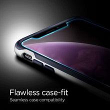 Load image into Gallery viewer, Spigen Glass Apple iPhone 11 / iPhone Xr Met Montage Frame EZ FIT 064GL24818