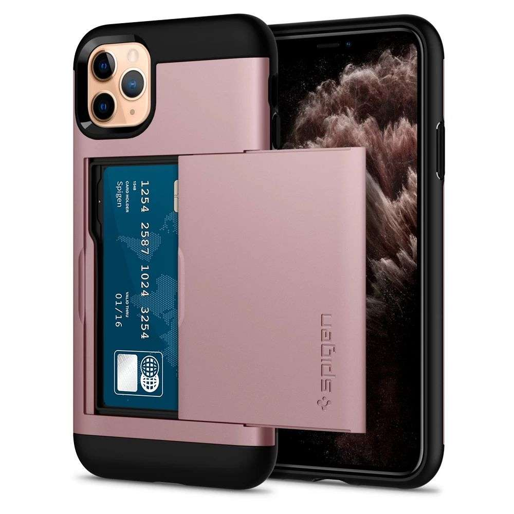 Spigen Slim Armor CS Case Apple iPhone 11 Pro Max (Rose Gold) - 075CS27427