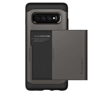 Spigen Slim Armor CS Case Samsung Galaxy S10 Plus (Gunmetal) - 606CS25780