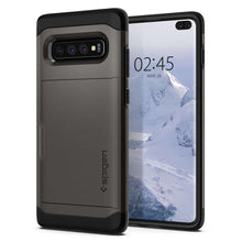 Load image into Gallery viewer, Spigen Slim Armor CS Case Samsung Galaxy S10 Plus (Gunmetal) - 606CS25780