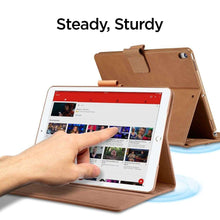 Load image into Gallery viewer, Spigen Stand Folio Apple iPad iPad Air 2019 Brown - 073CS26323