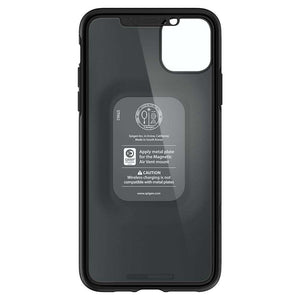 Spigen Thin Fit 360 Apple iPhone 11 Pro Max Case met Tempered Glass Black 075CS27150