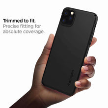 Load image into Gallery viewer, Spigen Thin Fit Air Apple iPhone 11 Pro Max Case (Black) - ACS00066