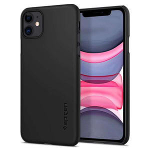 Spigen Thin Fit Apple iPhone 11 Case (Black) - 076CS27178