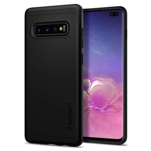 Spigen Thin Fit Classic Samsung Galaxy S10 Plus Case (Black) - 606CS26051