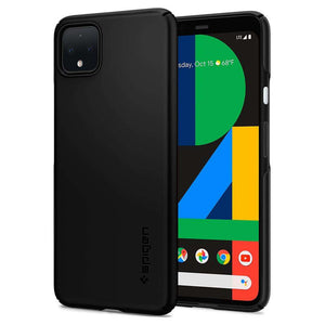 Spigen Thin Fit Google Pixel 4 XL Case (Black) - F25CS27545