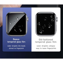 Load image into Gallery viewer, Baseus Full Cover Film Protector Apple Watch 38mm (Black)