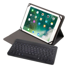 Load image into Gallery viewer, Just in Case Universele 9 t/m 10.5 Inch Premium AZERTY Bluetooth Keyboard Cover-Black