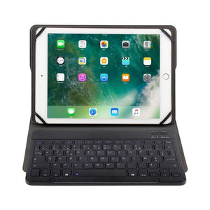 Just in Case Universele 9 t/m 10.5 Inch Premium AZERTY Bluetooth Keyboard Cover-Black