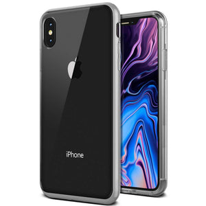 VRS Design Crystal Bumper Case Apple iPhone Xs Max (Steel Silver) - 905691