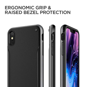 VRS Design High Pro Shield Series Apple iPhone Xs Max (Steel Silver) - 905695
