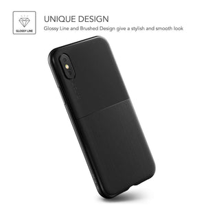 VRS Design Single Fit Series Apple iPhone Xs (Black) - 905187
