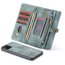Load image into Gallery viewer, CASEME Apple iPhone 11 Pro Vintage Wallet - Blue