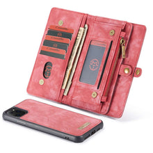 Load image into Gallery viewer, CASEME Apple iPhone 11 Pro Vintage Wallet - Red