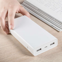 Load image into Gallery viewer, Xiaomi Fast Charging Powerbank 20.000mAh - White