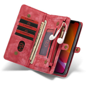 CASEME Apple iPhone 11 Pro Vintage Wallet - Red