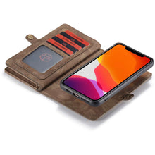 Load image into Gallery viewer, CASEME Apple iPhone 11 Pro Vintage Wallet - Brown