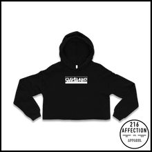 Load image into Gallery viewer, BLOCK Cropped Hoodie