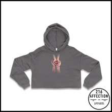 Load image into Gallery viewer, GIVING Cropped Hoodie