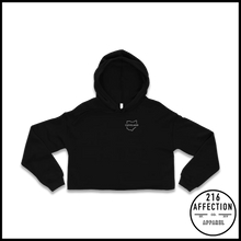 Load image into Gallery viewer, OUTLINE Cropped Hoodie
