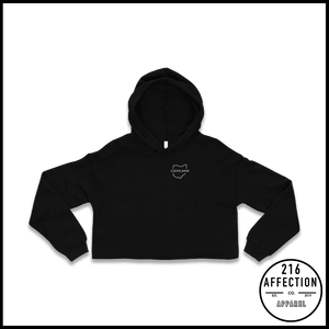 OUTLINE Cropped Hoodie