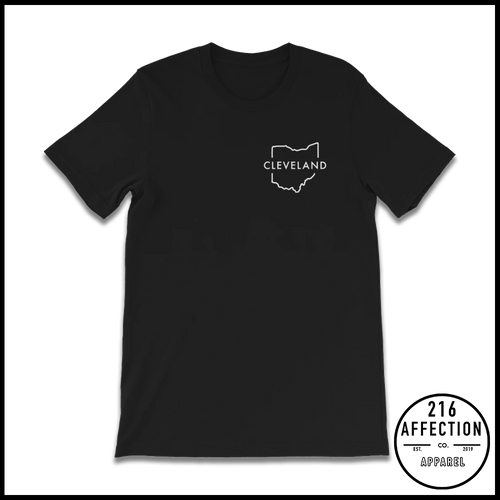 OUTLINE CLEVELAND OHIO TEE