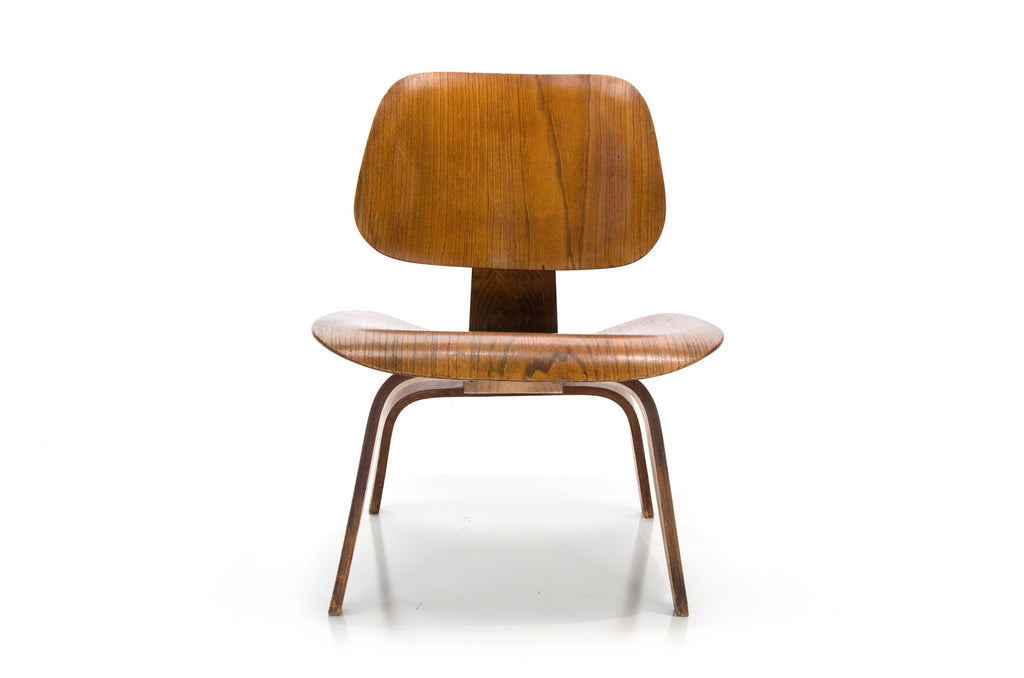 Charles Ray Eames LCW Chair Early Evans Label ...