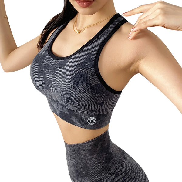 Hazel Yoga Gym Bras - WoMensTrendzz