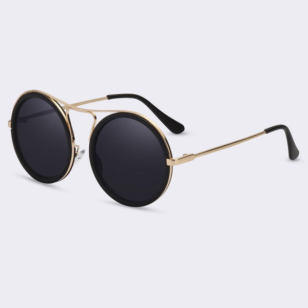 Haley Vintage Round Sunglasses - WoMensTrendzz
