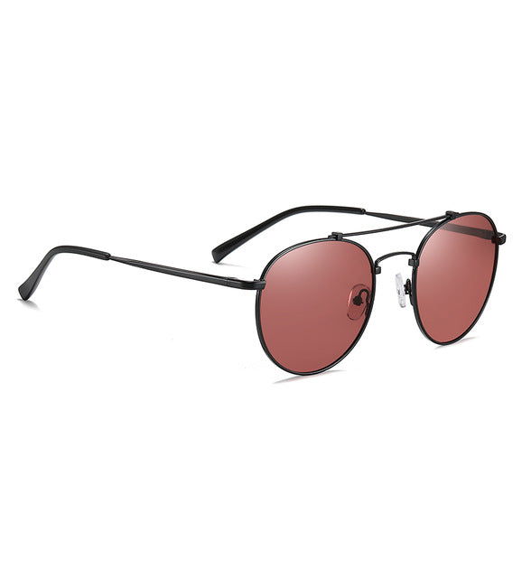 Dawn Vintage Round Polarized Sunglasses - WoMensTrendzz