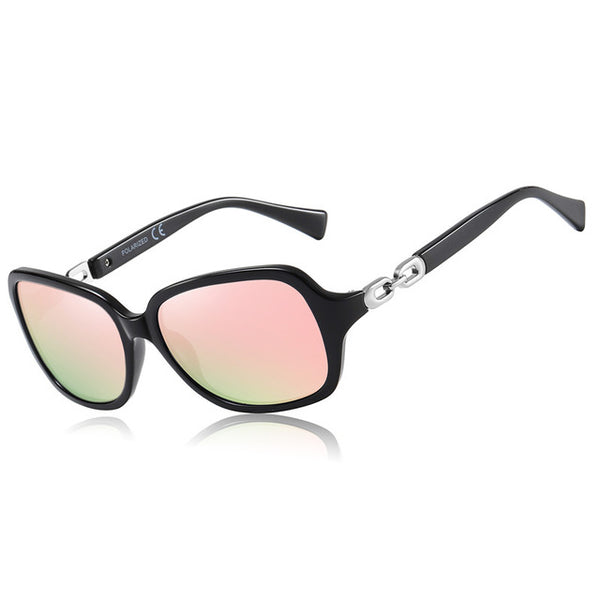 Normae Polarized Vintage Square Mirror Sunglasses - WoMensTrendzz