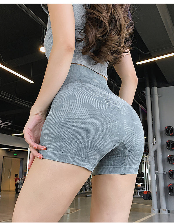 camouflage gym shorts - WoMensTrendzz