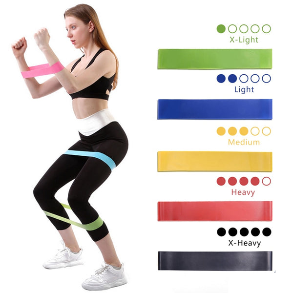 Yoga Resistance Rubber Band Pilates - WoMensTrendzz