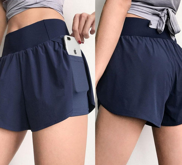 Dulce Quick Dry Shorts - WoMensTrendzz