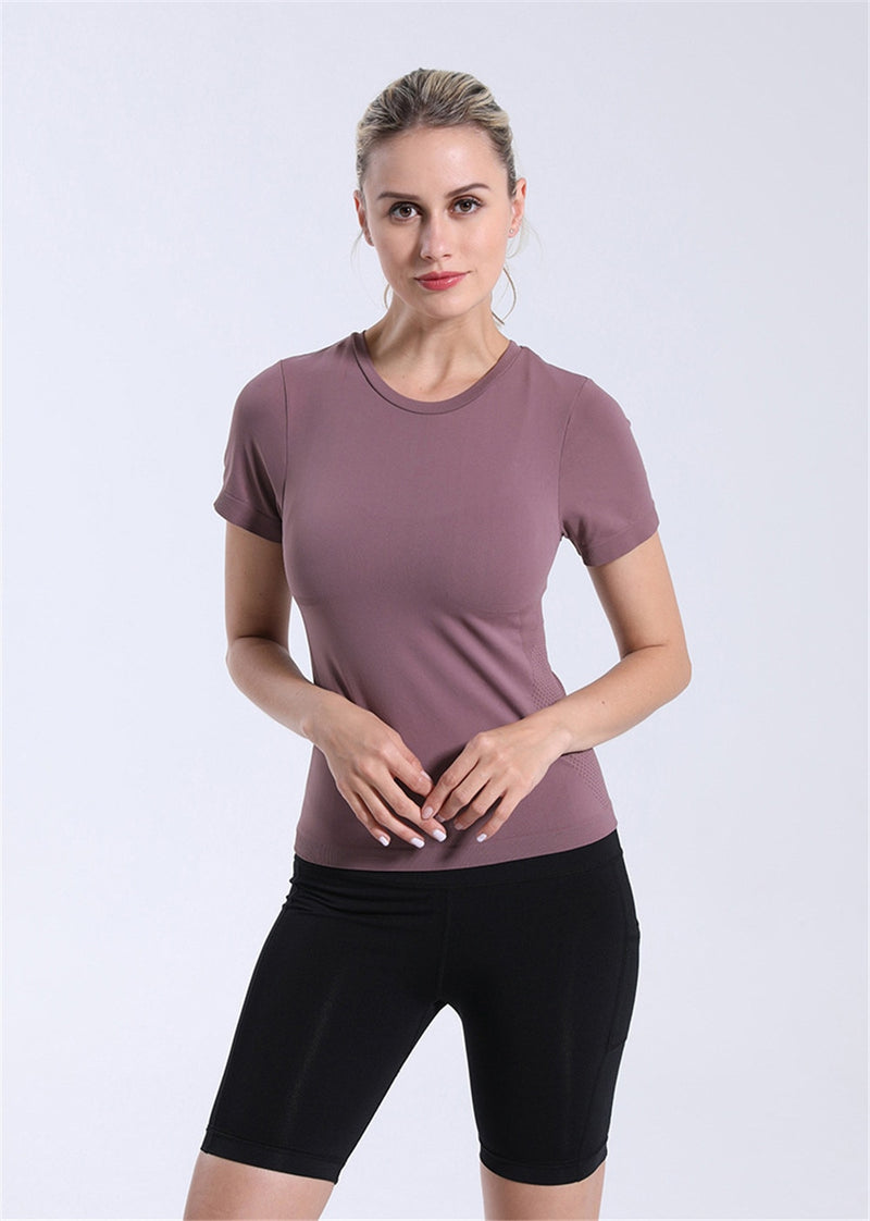 Eli Slim Fit Gym Shirt - WoMensTrendzz