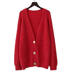 Katie  Cardigan Button - WoMensTrendzz