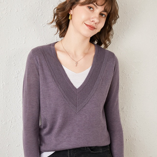 Katie Preppy Wool Sweaters - WoMensTrendzz