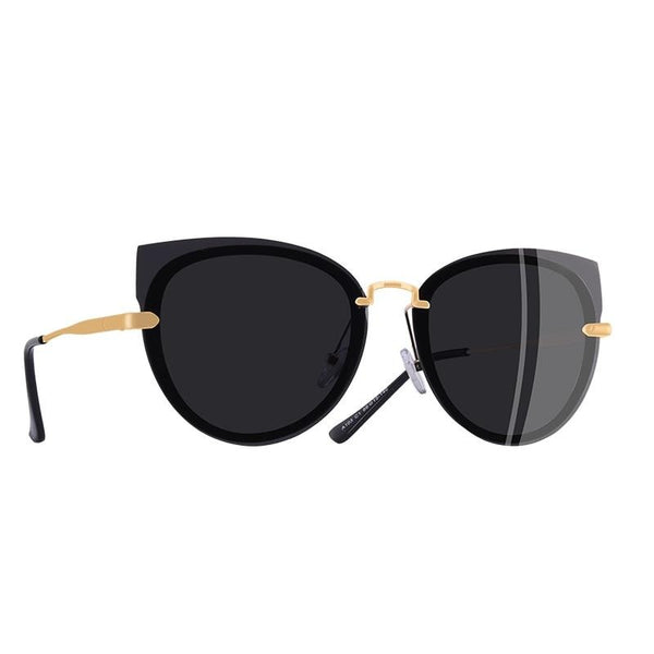 Rossi Polarized Classic Cat Eye Sunglasses - WoMensTrendzz