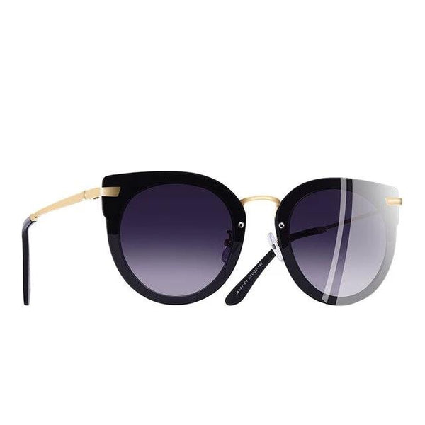 Sagitta Cat Eye Gradient Lens Sunglasses - WoMensTrendzz